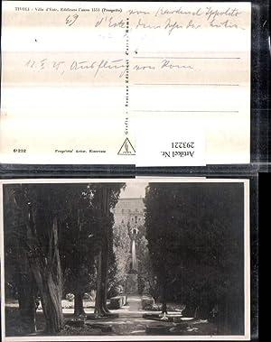 293221,Lazio Roma Tivoli Villa d'Este Motiv Fontäne
