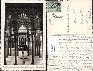 359393,Granada Alhambra Patio de los Leones Palast