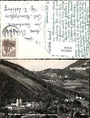 367654,Maria Schutz am Semmering Totale geg. Semmering