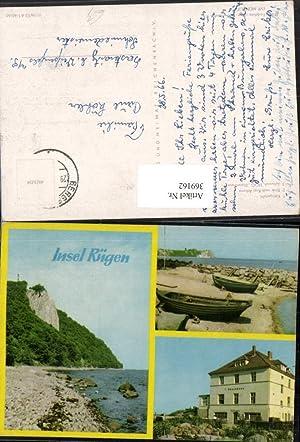 369162,Insel Rügen Königsstuhl Kap Arkona Dünenhaus Mehrbildkarte