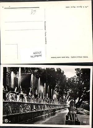 371229,Lazio Roma Tivoli Villa d'Este Viale delle