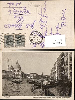 371713,Veneto Venezia Venedig Canal Grande con la