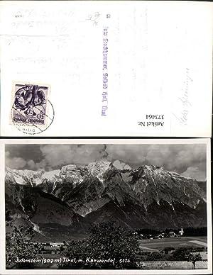 373464,Judenstein in Tirol Teilansicht m. Karwendel Bergkulisse