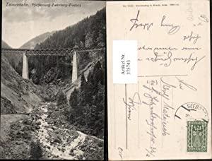375743,Tauernbahn Pfaffenberg-Zwenberg-Viadukt Brücke b. Reißeck