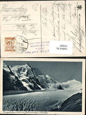 375847,Großglockner m. Johannisberg b. Heiligenblut Bergkulisse Pasterze