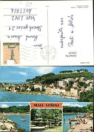 379157,Croatia Mali Losinj Lussinpiccolo Teilansicht Küste Mehrbildkarte