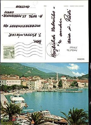 379165,Croatia Makarska Teilansicht Boot