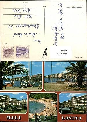 379167,Croatia Mali Losinj Lussinpiccolo Teilansicht Küste Promenade