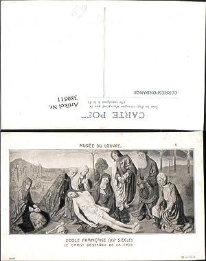 380511,Künstler Ak Le Christ descendu de la