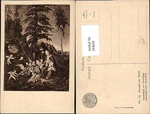 384634,Künstler AK Cranach fec. Berlin Heilige Familie