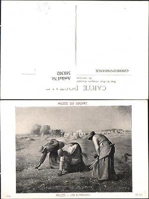 388302,Künstler Ak Jean-Francois Millet Les Glaneuses Landwirtschaft