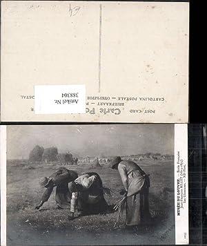 388304,Künstler Ak Jean-Francois Millet Les Glaneuses Landwirtschaft