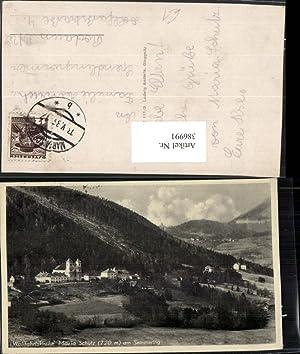 386991,Maria Schutz am Semmering Totale m. Wallfahrtskirche