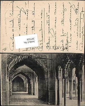 387328,Spain Granada Alhambra Palast Sala de Justicia