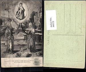 388375,Künstler Ak Annonciation a Saint Joachim et