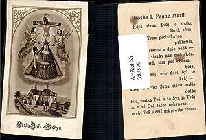 388579,Andachtsbild Heiligenbildchen Matka Bozi v. Bechyni Gnadenbild