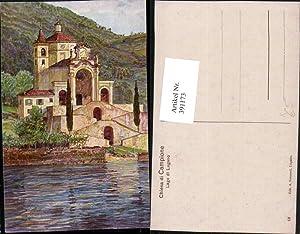 391173,Künstler AK A. Veronesi Lombardia Como Lago