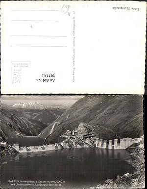 393334,Kaprun Mooserboden u. Drossensperre Talsperre Damm Bergkulisse
