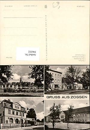 396352,Gruß aus Zossen Park Marktplatz Berufsschule Lichtspiele