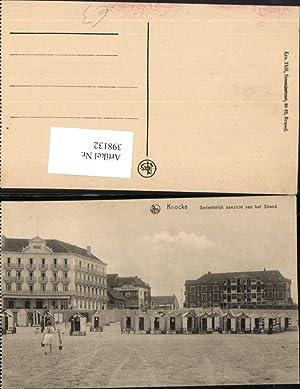 398132,Belgium Knocke Knokke-Heist Gedeeltelijk aanzicht van het