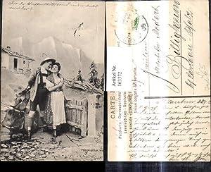 163372,Künstler Ak Fec. Ch. Scolik Jagd Jäger