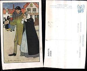 252838,Künstler AK Jules Fonteyne Mann m. Alter