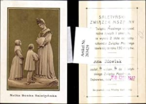 263429,Andachtsbild Heiligenbild Matka Boska Saletynska Anna Wdowiak