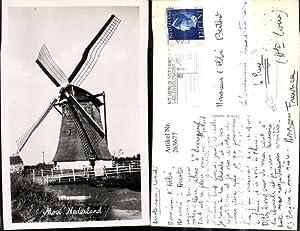 263677,Foto Ak Windmühle Mooi Nederland