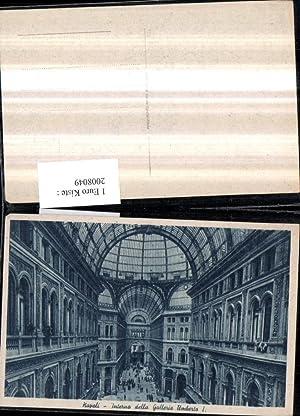 2008049,Napoli Neapel Interno della Galleria Umberto Einkaufszentrum