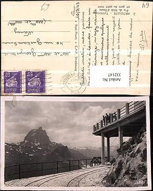 332147,Aquitanien Pyrenees-Orientales Artouste Pic du Midi d'Ossau
