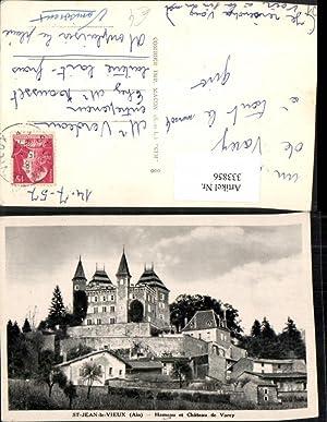 333856,Rhone-Alpes Ain St-Jean-le-Vieux Hameau et Chateau de