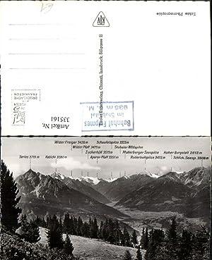 335161,Das Stubaital b. Fulpmes Bergkulisse