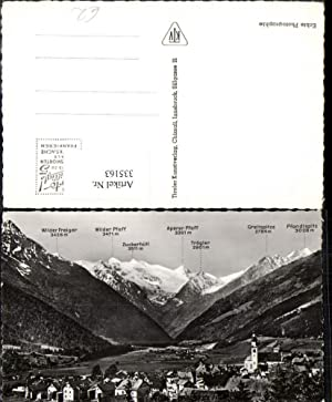 335163,Fulpmes im Stubai Totale geg. Stubaier Gletscher