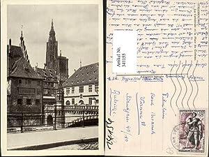 341155,Elsass Bas-Rhin Strasbourg Straßburg La Cathedrale et