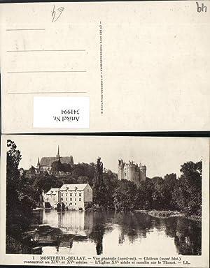 341994,Pays de la Loire Maine-et-Loire Montreuil-Bellay Chateau