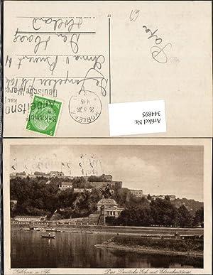 344895,Koblenz am Rhein Das Deutsche Eck m.