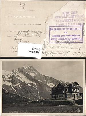 347225,Kaprunertal Hotel Mooserboden b. Kaprun m. Kitzsteinhorn