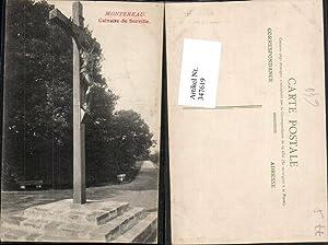 347619,Ile-de-France Seine-et-Marne Montereau Calvarie de Surville Kreuz