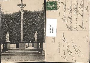 349351,Picardie Aisne Laon Notre-Dame-de-Liesse Le Calvaire Kruzifix