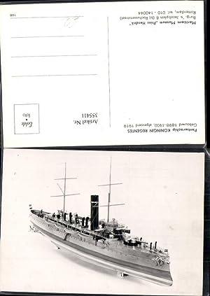 355411,Foto Ak Schiff Hochseeschiff Pantserschip Koningin Regents