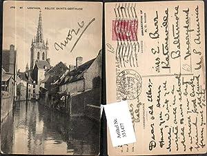 351477,Louvain Eglise Sainte-Gertrude Kanal Kirchenturm