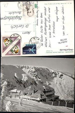 351790,Karkonosze Schronisko Strzecha Akademicka Berghütte b. Karpacz