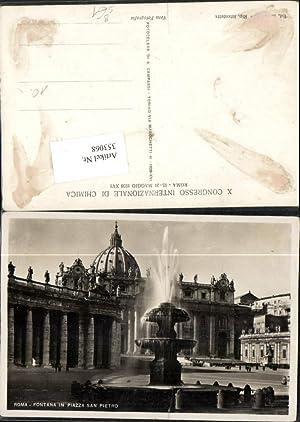 353068,Lazio Roma Rom Fontana Piazza San Pietro