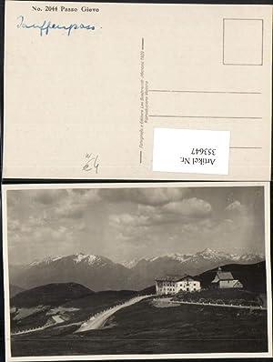353647,Trentino Bolzano Passo Giovo Jauffenpass Berghütte Kirche
