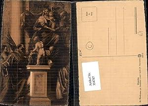 354787,Künstler Ak P. Veronese La Madonna col