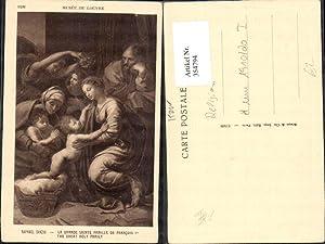 354794,Künstler Ak Raphael Sanzio La Grande sainte