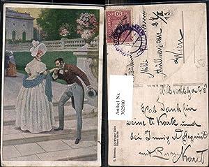 362580,Künstler Ak C. Benesch Alt-Wiener Liebe Stara