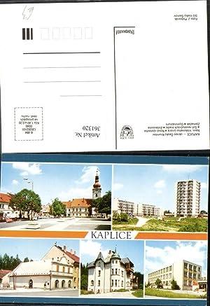 361320,Kaplice Kaplitz Namesti Zotavovna Zamecek Gymnazium Mehrbildkarte
