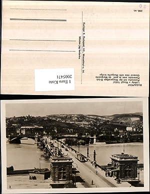 2005471,Budapest Totale Margarethen Brücke