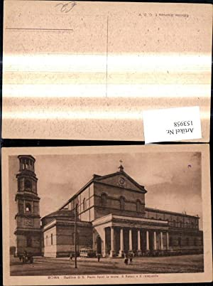 153958,Roma Rom Basilica di S. Paolo fuori